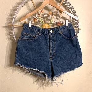 VTG Mom Jean Shorts High Rise Cut Off Ralph Lauren